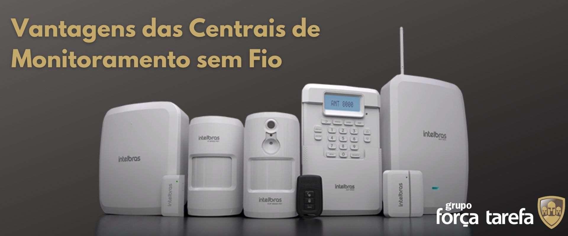 central de monitoramento sem fio